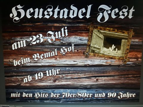 Flayer Heustadlfest 2016 am 23.07.2016